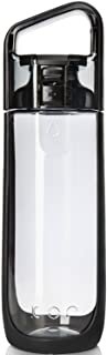 KOR Delta Water Bottle Onyx, 16.9 Ounce