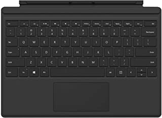 Microsoft Surface Pro 4 Type Cover - English Keyboard, Black