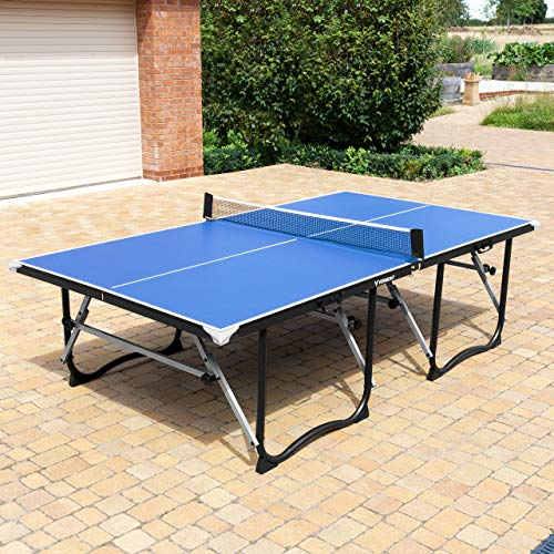 Vermont Foldaway Table Tennis Table – Premium Portable Ping Pong Table | 4 Options (Table Only)