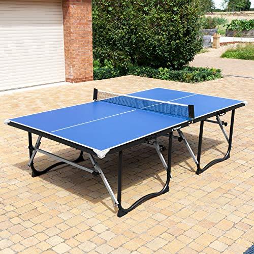 Vermont Foldaway Table Tennis Table – Premium Portable Ping Pong Table | 4 Options (Table + Intermediate Set)