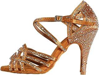 presa all'ingrosso andare online ultimo stile Amazon.it: scarpe ballo latino con strass