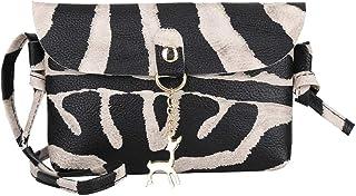 Ears Damen Leder Umhängetasche Leopardenmuster Münztüte Messenger-Bags Brieftasche Kleine Tasche Handtasche Elegant Handta...