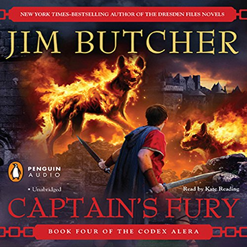 Captain's Fury audiobook cover art