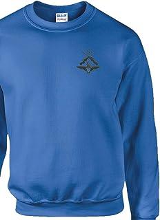 Embroidered para Sniper Unisex Cotton Classic Sweatshirt