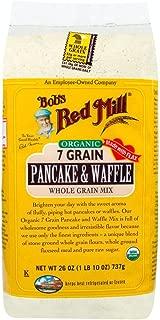 Bob's Red Mill Organic 7 Grain Pancake & Waffle Mix, 26-ounce