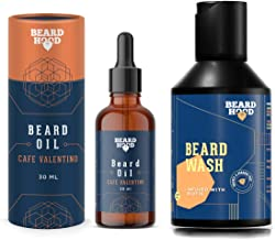 BEARDHOOD Café Valentino Beard Oil (30ml) & Beard Growth Wash (100ml)