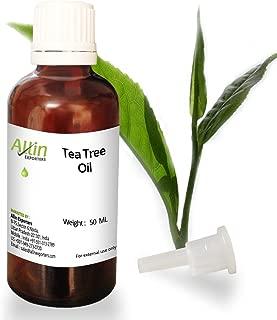 Allin Exporters Tea Tree Oil Australia - 100% Pure Natural Organic Australian TEA TREE OIL - 50 ML