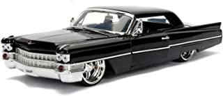 1963 Cadillac Black 1-24 Diecast Model Car by Jada