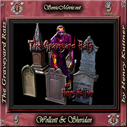 The Graveyard Rats audiobook cover art