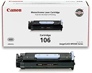 "Canon, 106 Black Original Toner Cartridge For Imageclass Mf6530, Mf6540, Mf6550, Mf6560, Mf6580, Mf6590, Mf6595 ""Product Category: Supplies & Accessories/Printer Consumables"""
