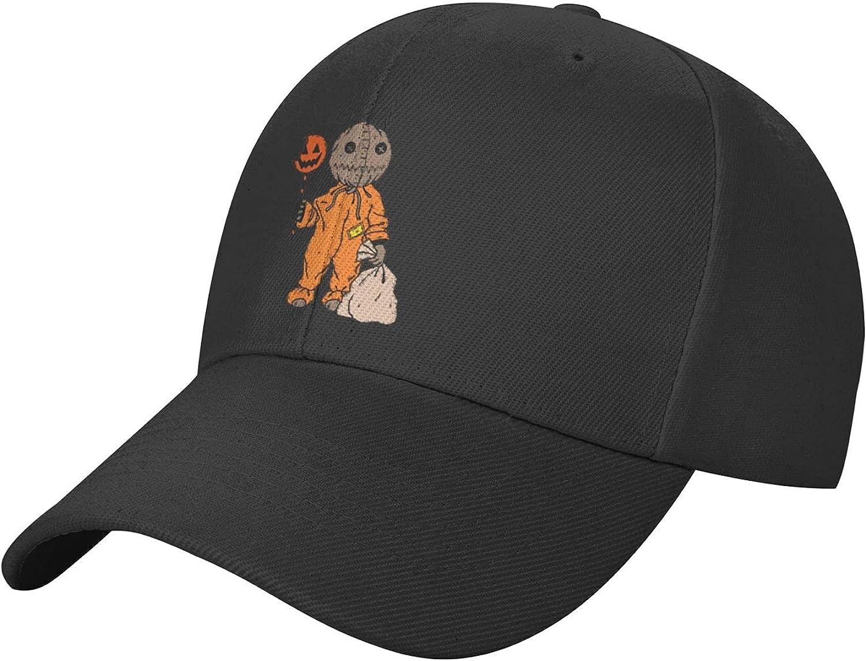 Witch Happy Halloween Hat Black Baseball Cap, Adjustable Trucker Hat, Sun Hats Dad Hat Golf Hats for Women Men