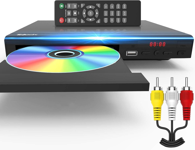 Amazon.com: DVD Player for TV All Region Free DVD Player with AV ...
