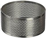 Lacor - 68547 - Molde Aro Redondo Perforado 7x3,5cm Inox.