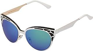 Sky Vision Cat Eye Sunglasses for Women, Blue Lens, SK9633