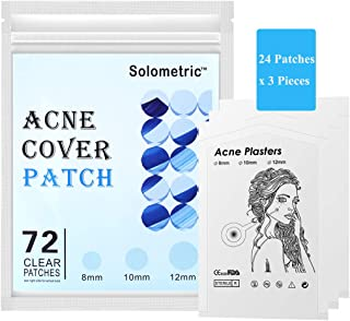 Acne Pimple Patch, Hydrocolloid Acne Healing Patches, Invisible Absorbing Cover, Blemish Spot Treatment Por...