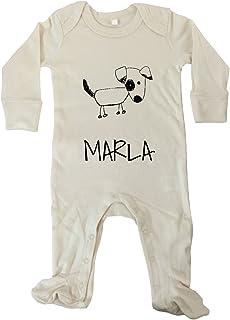 JOllify JOllipets Baby Strampler Langarm - MARLA - 100% BIO - Variante: Tiere Zoo