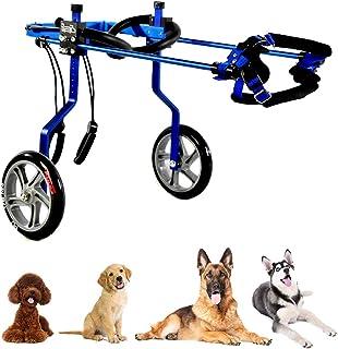 後肢切断用犬用車椅子、調整可能なフルサポートカート、障害猫ウサギ用後肢リハビリテーション、運動障害のあるペットの生活を変える、1〜60 KG