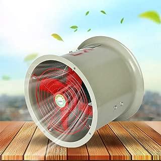 TFCFL Explosion-proof Axial Flow Fan Pipeline Exhaust Fan 300mm 1450rpm 0.18KW 110V for Factories and Enterprises CBF-300