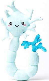 nerdbugs Neuron (Brain Cell) Plush - Neuron My Mind! -Brain Cell Plush Organ/ Get well gift/ Health education toy/ Neurosc...