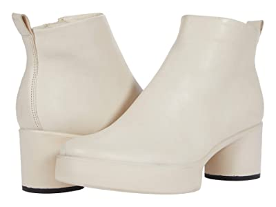 ECCO Shape Sculpted Motion 35 Ankle Boot (Limestone) Women