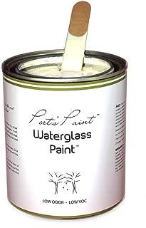 Poets Paint Waterglass Paint Chalk Finish 16 oz Vintage White