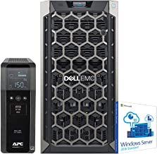 Dell PowerEdge T340 Tower Server for Dental Practices Including, Windows 2016 STD OS, APC UPS for Power Backup, Intel Xeon E-2124 4-Core 3.3GHz 8MB, 32GB DDR4 RAM, 8TB HDD, RAID