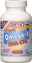 Deva Nutrition Deva Vegan DHA-EPA Delayed Release 90 Count