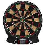 Best Sporting elektronische Dartscheibe London Dartboard mit 6 Dartpfeilen und Ersatzspitzen,...