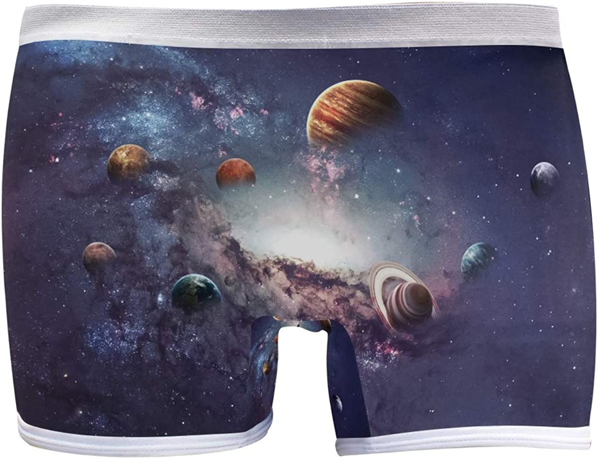 Max 64% OFF SLHFPX Womens Nashville-Davidson Mall Underwear Boxer Briefs S Planet Outer in Beautiful
