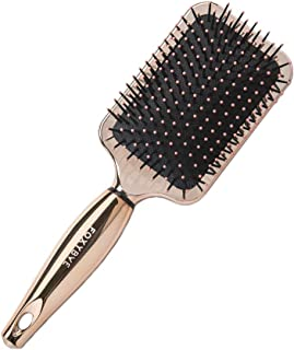 Foxy Bae Paddle Hair Brush - Detangling Hair Brush with Soft Nylon Bristles - Hair Volumizer Styling Brush - Creates a Smooth & Shiny Look - Ideal for Wet and Dry Hair - Rose Gold, MSRP $16.95