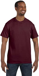 50-50 Short-Sleeve T-Shirt (29M) Available in 28 Colors 3X Maroon