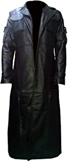 Frank War Zone Tactical Faux Leather Trench Coat