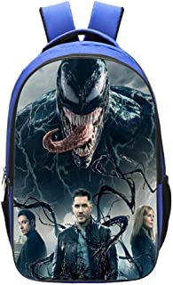 Mochila para Niños Mochilas Impresas Marvel Venom para Adolescentes, Mochilas Escolares para Niños Y Niñas De 6 A 15 Años H:42cm * L:29cm * W:16cm Marvel Venom-L