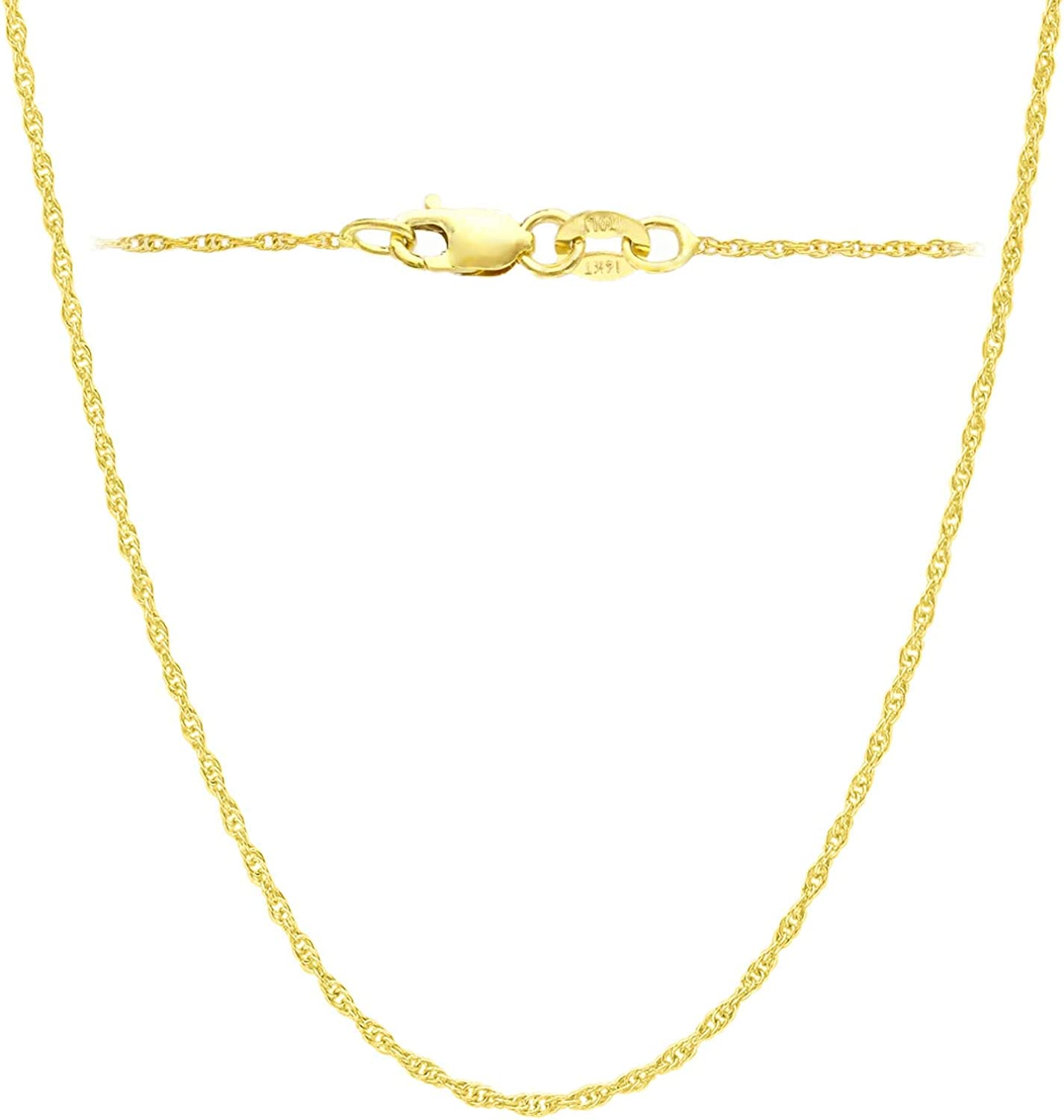 14K Special price for a limited time 10K Yellow or Financial sales sale White Solid Gold mm 1.2 Italian Cut 1 Diamond