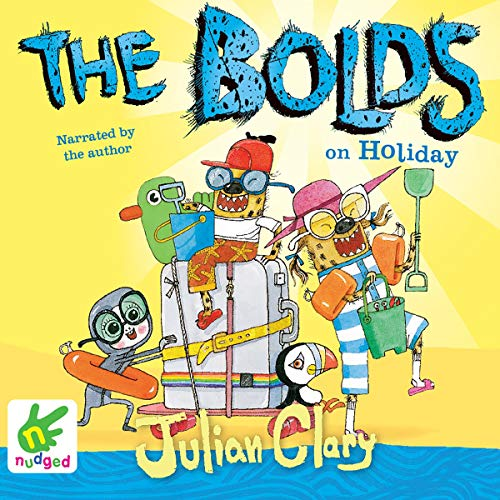 The Bolds on Holiday audiobook cover art