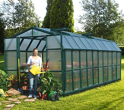 267 cm x 639 cm Gartenhaus Grand Gardener 410