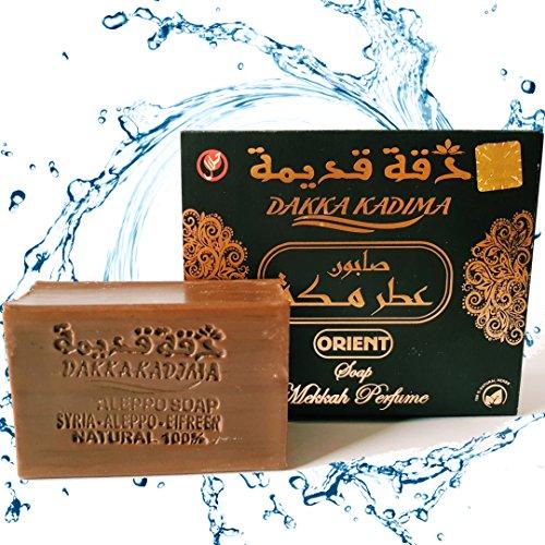 Originele Aleppo-zeep Dakka Kadima Premium Edition (Mekkah-parfum)