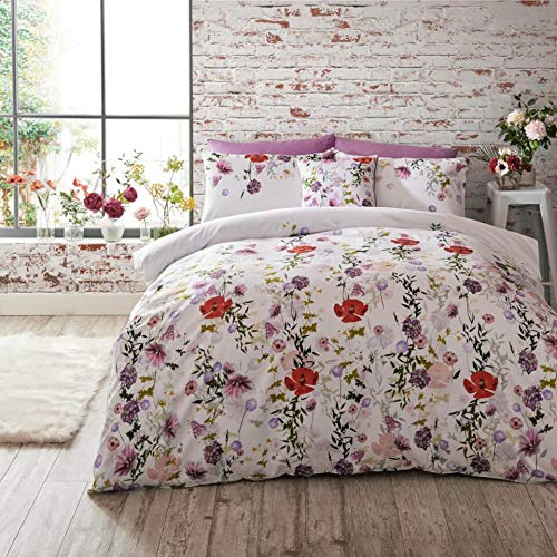 Ted Baker Hedgerow Floral Cotton Duvet Cover - KING, MULTI