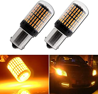 EverBright Extremely Bright 7507 Turn Signal Light Bulb,Canbus No Error BAU15S PY21W 5009 Replacement