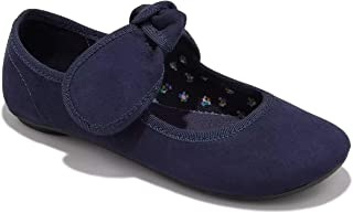 Cat & Jack Girls' Jaya Mary Jane Ballet Flats (5, Navy)