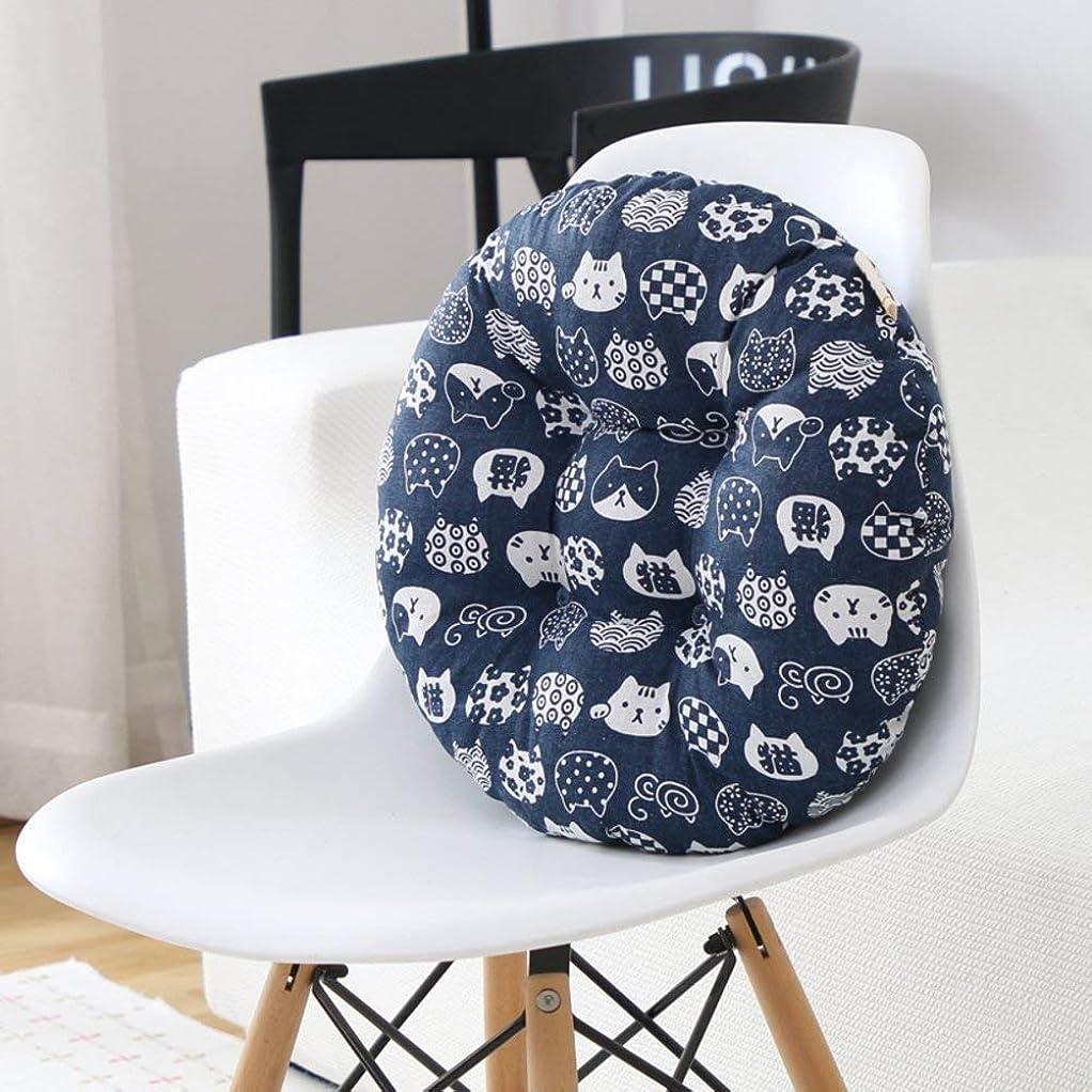 阻害する平日おとこ厚い織物のバッファ 椅子のオフィスチェアー用の腰部サポートクッション-G 69X69Cm(27X27Cm) (色 : -, サイズ : -)