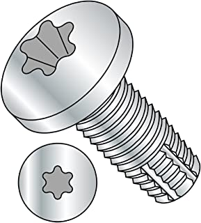 100-Pack The Hillman Group 81452 10-32 x 3//4-Inch HWH Slotted F Thread Cutting Screw