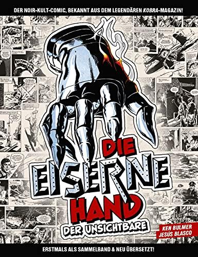 Die eiserne Hand - Der Unsichtbare: Bd. 1