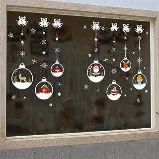 Globalqi Etiqueta de la Pared de Navidad Bola de Cristal Que cuelga la Cadena Mas Patrones Sala de Estar Dormitorio decora...