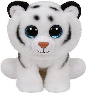 Ty Inc Beanie Boo Plush Stuffed Animal Medium Tundra the Tiger 10