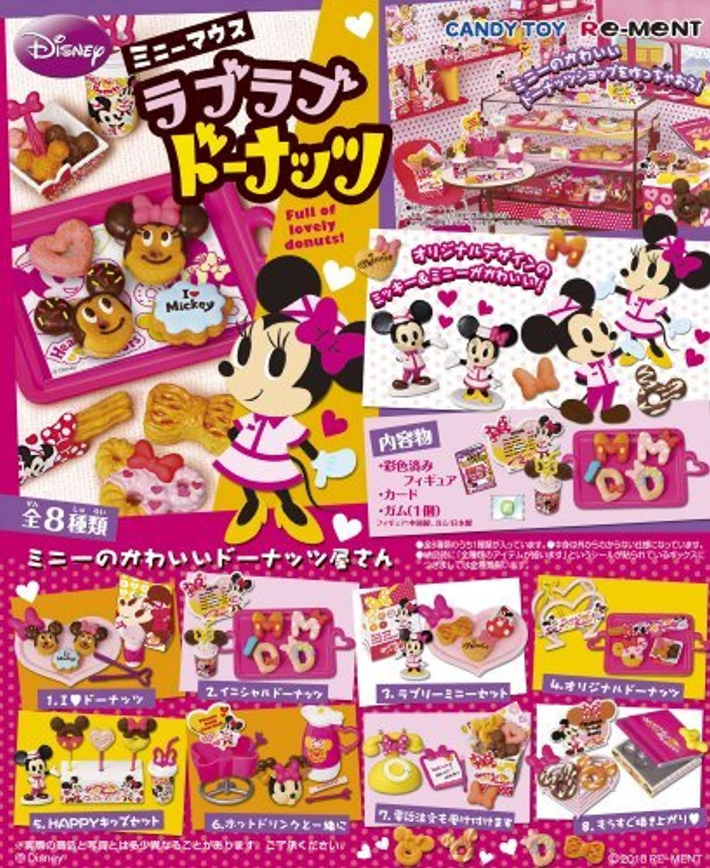 barato Re-ment Re-ment Re-ment Disney Minnie Mouse Love Donuts Miniature Complete Set by Re-Ment  compra limitada