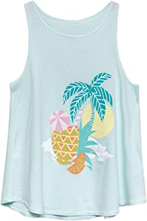 Girls' Vacation Pineapple Tank