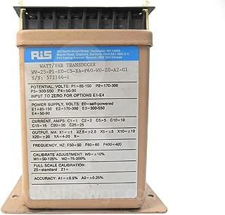 WV-25 - Rochester Instrument WATT/VAR TRANSDUCER