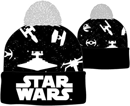 2b5e4fe430c Star Wars Ships Logo Cuff Beanie Cap Hat Licensed New