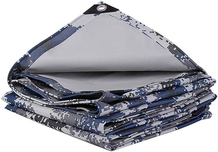 Filet Camo Camouflage Chasse Filet Filet Cacher Armée Militaire Oxford Tissu Camo Filet Filets de prougeection solaire pour camping (Couleur   Ocean, Taille   5  6M(16.4  19.6))